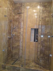 Praktikus zuhanykabin