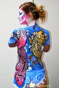 Testfestés, mint művészet